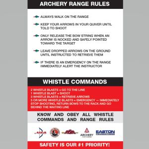 Range Safety Poster