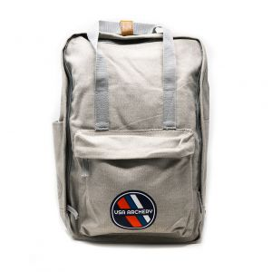 USA Archery Retro Field Backpack