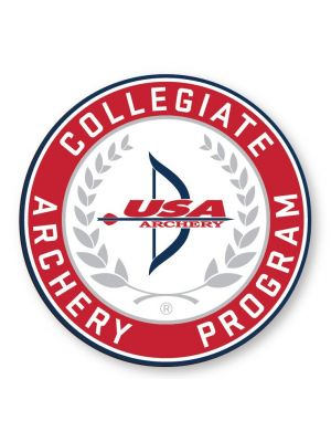 Collegiate Archery Program Sticker