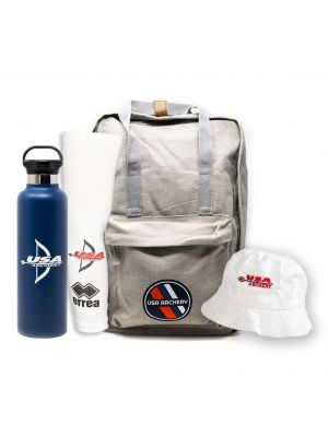 Outdoor Season Backpack and Bucket Hat Bundle