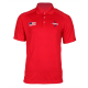 Men's Nike Red Short Sleeve Polos