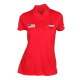 Women's Nike Red Short Sleeve Polos