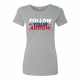 USA Archery Follow Your Arrow 3C T Shirt - Women's