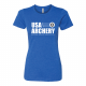 USA Archery NAA Wh T Shirt - Women's
