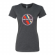 USA Archery Retro Patch T Shirt - Women's