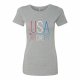 USA Archery Stitch T Shirt - Women's