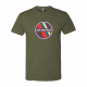 USA Archery Retro Patch T Shirt - Men's