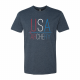 USA Archery Stitch T Shirt - Men's