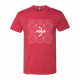 USA Archery Pattern T Shirt - Men's